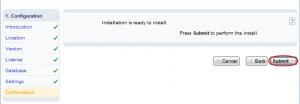 Installatron: Finalizing Script Installation