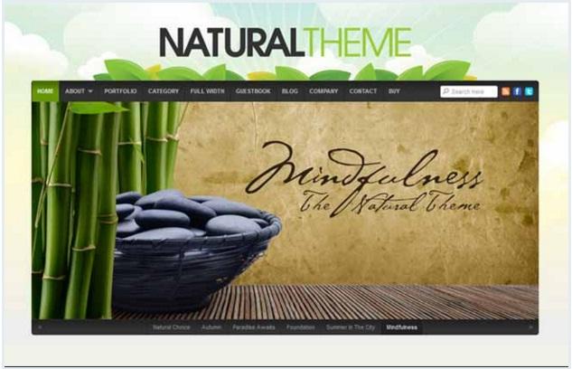 theme natural