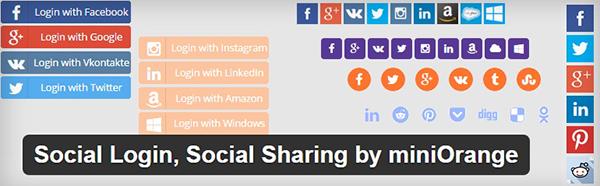 plugin social login social sharing